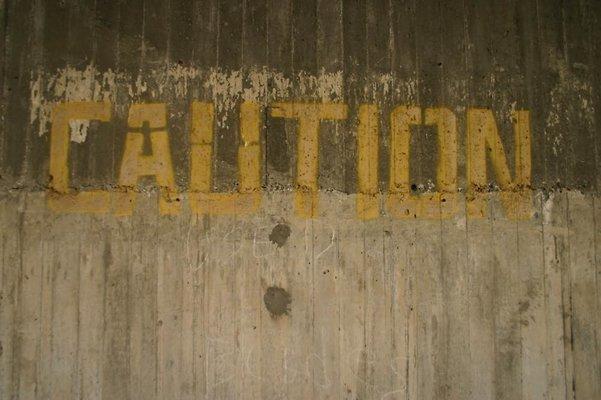 caution words